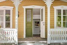 veranda | / En mysig veranda för härliga sommarkvällar / The Swedish veranda