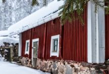 farm | house / Varje lantlig gård behöver en gammal lada, ladugård / An old barn