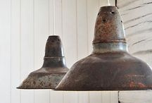 lights | / Vackra lampor är en underbar detalj i lanthemmet / Beautiful lamps to make the Scandinavian cottage bright