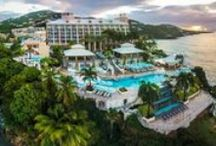 St Thomas, All Inclusive Honeymoons / A St Thomas honeymoon is great if you're looking to go to the Caribbean, but want to feel like you're still in the states. St. Thomas is the only island in the US Virgin Islands or British Virgin Islands that has all inclusive resorts. No other islands come close to giving you such a slice of Americana in the Caribbean, as do the United States Virgin Islands.