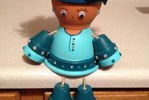 Lavori con i vasi di terracotta / HOBBY