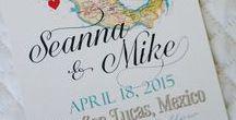 Destination Wedding Invitation / Browse a variety of destination wedding invitations.