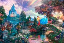 Thomas Kinkade / Beautiful Paintings  / by Fran Weber