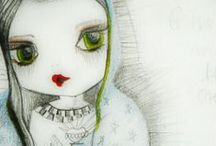Usaghy || Drawings & sketches / My ethereal Usaghy on paper