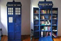 Taking your GeekyBooks home. / So you took home a geeky book. Where should you store it? Where should you read it? #bookshelves #decor