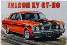 XY & XW FORD FALCON / Arguably the best Old School Australian Muscle Car ever made. The 1971 XY GT-HO Phase 3 was the fastest Four Door Production Car in the world. They cost around $4000 new in 1971 and can fetch up to $1,000,000 today for a good example.