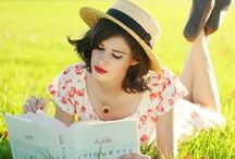 Books ❤ Get Caught Reading / People reading & people with books! / by ❤ Just Me ❤