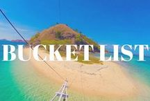 Bucket List Adventures / Check out these places that I'm dying to go!