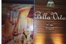 Esmalteria Bella Vita / Esmalteria Bella Vita Nail Bar, mais de 1.000 cores de esmaltes nacionais, importados, Manicure e Pedicure, Cabelo e Maquiagem. (62) 3636.7426
