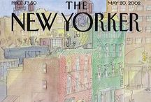 Covers - The New Yorker by Sempé