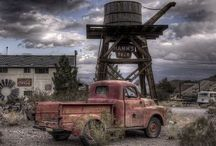 Abandoned, Rusted and Forgotten / Here are pics of some of the coolest places/things that have seen better days.