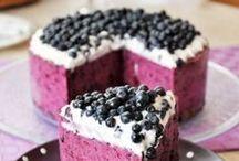 Fruity desserts