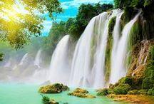 Wodospady,Waterfalls / Waterfalls, Wodospady.