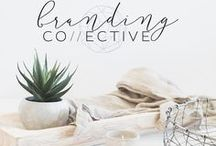 BRANDING COLLECTIVE - THE WORK / A sneak peak of our work with amazing clients. Branding, website design and much more.