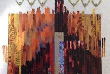 Earthkey Exhibition: Nino Bellantonio, collages and encaustic works /  is art composed in the Key of Earth to be heard by the eyes and seen by the heart