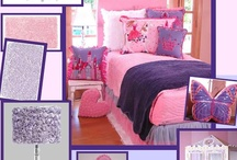 Girls Rooms My Style / Girls bedrooms can be done with a mix and match look or that perfect blend of colors and pattern. You can be your own personal designer / by Sweet N Sour Kids