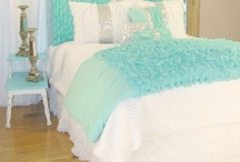 Teen BedroomsTurquoise/Teal   / Teen girls love turquoise, it seems to be their first choise these days. blending white, black or almost any color with teal is always pretty