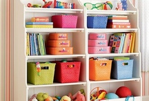 Kids Storage In Their Room / Storage is so important. It will keep the bedroom or play room looking neat and tiddy