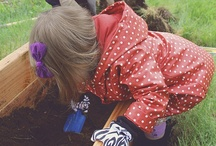 Children and gardening is so fun / Make this fun for the whole family. Make your garden grow. Enjoy