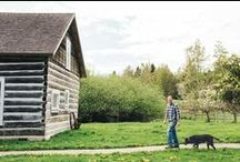 Farmhouses / The homes, rooms, and barns that make up America's farms.