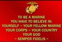 Marines The Few The Proud / For you Daddy / by Dollbirdies