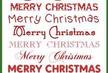Weihnachten - Christmas