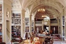 Libraries/Bookshelves I Love! / Beautifully collected books.