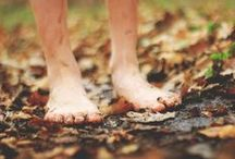 Barefoot, Moving, Cold and Earthing