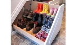 Hall and Entrance Storage and Ideas / Organisation