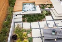 Roof Gardens | Back Yards |Patios