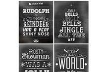 Dollhouse Christmas Printables