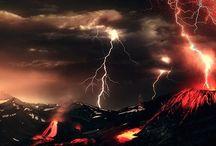 Volcanos, Lightning, & Volcanic Lightning