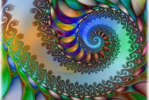 funky fantastic fractals (incl fakes) / you do the maths..