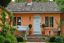 creating CABINS & COTTAGES / Log homes and cottages...cozy and comfy...luv, luv, luv. / by Nancy Whitson