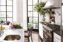 Kitchens, Dining  and Baths / by Kimberly Oram