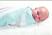 Sleeping bags by Aden and Anais / Beautiful blankets, wraps and sleeping bags from Aden and Anais.