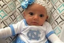 """UNC Chapel Hill Tarheel Baby / Future Tailgater offers awesome UNC Tarheel baby apparel, accessories & gift sets for baby fans. Our items will make you smile cause they're """"Made to Play""""!"""