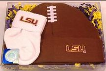"""LSU Tigers Baby / Future Tailgater offers awesome LSU Tigers baby apparel, accessories & gift sets for baby fans. Our items will make you smile cause they're """"Made to Play""""!"""