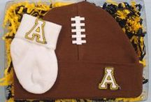 """Appalachian State Mountaineer Baby / Future Tailgater offers awesome Appalachian State Mountaineer baby apparel, accessories & gift sets for baby fans. Our items will make you smile cause they're """"Made to Play""""!"""