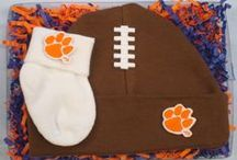 """Clemson Tiger Baby / Future Tailgater offers awesome Clemson Tiger baby apparel, accessories & gift sets for baby fans. Our items will make you smile cause they're """"Made to Play""""!"""