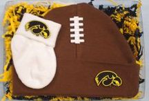 """Iowa Hawkeye Baby / Future Tailgater offers awesome Iowa Hawkeye baby apparel, accessories & gift sets for baby fans. Our items will make you smile cause they're """"Made to Play""""!"""