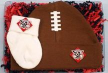 """Davidson Wildcat / Future Tailgater offers awesome Davidson Wildcat baby apparel, accessories & gift sets for baby fans. Our items will make you smile cause they're """"Made to Play""""!"""