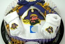 """East Carolina ECU Pirates / Future Tailgater offers awesome East Carolina ECU Pirates baby apparel, accessories & gift sets for baby fans. Our items will make you smile cause they're """"Made to Play""""!"""