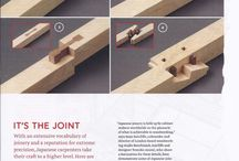 Joinery of woodworking