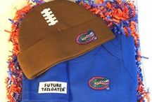 """Florida Gator Baby / Future Tailgater offers awesome Florida Gators baby apparel, accessories & gift sets for baby fans. Our items will make you smile cause they're """"Made to Play""""!"""
