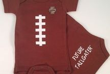 """Idaho Vandal Baby / Future Tailgater offers awesome Idaho Vandals baby apparel, accessories & gift sets for baby fans. Our items will make you smile cause they're """"Made to Play""""!"""
