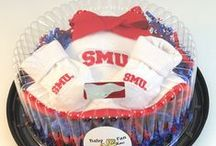 """SMU Mustang Baby / Future Tailgater offers awesome SMU Mustangs baby apparel, accessories & gift sets for baby fans. Our items will make you smile cause they're """"Made to Play""""!"""