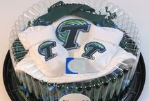 """Tulane Green Wave Baby / Future Tailgater offers awesome Tulane Green Wave baby apparel, accessories & gift sets for baby fans. Our items will make you smile cause they're """"Made to Play""""!"""