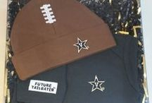 """Vanderbilt Commodores Baby / Future Tailgater offers awesome Vanderbilt Commodores baby apparel, accessories & gift sets for baby fans. Our items will make you smile cause they're """"Made to Play""""!"""