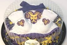 """West Chester Golden Rams Baby / Future Tailgater offers awesome West Chester Golden Rams baby apparel, accessories & gift sets for baby fans. Our items will make you smile cause they're """"Made to Play""""!"""